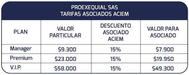 Convenio Proexequial - ACIEM Cundinamarca