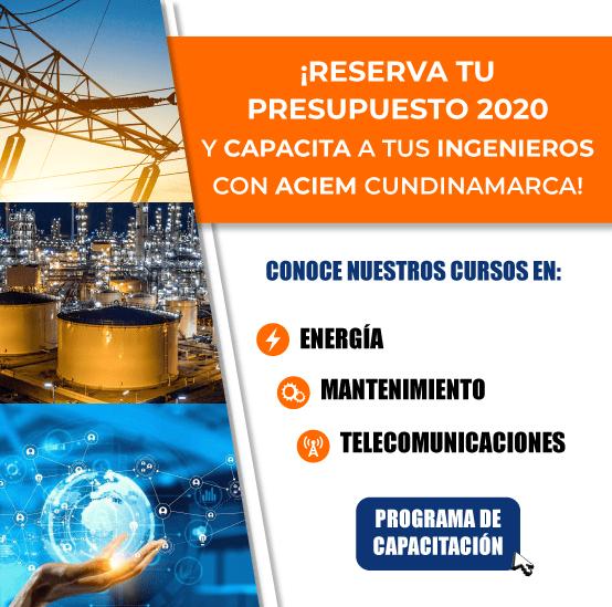 Programación de Cursos ACIEM Cundinamarca 2020