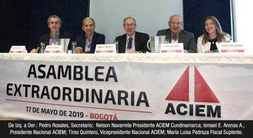 Asamblea Extraordinaria Nacional ACIEM